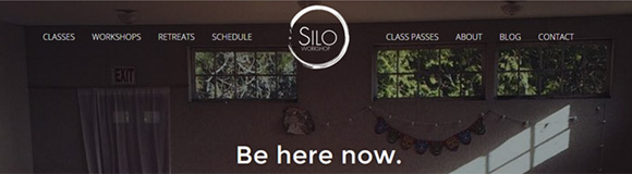 Updated website for Yoga Studio in Mt. Vernon, ME.  		<br />  		<a href='http://thesiloworkshop.com/' target='_blank'>thesiloworkshop.com</a>  		<br />  		WordPress, HTML, SCSS, PHP, Javascript